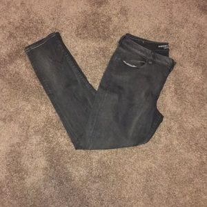 American Eagle grey jegging